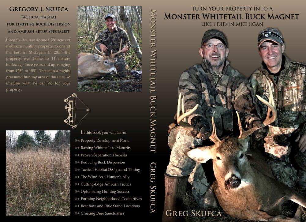Monster Whitetail Buck Magnet by Greg Skufca
