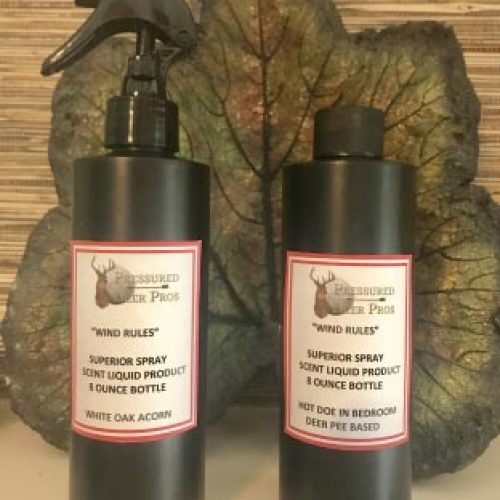 "Pressured Deer Pro ""WIND RULES"" Spray Scent"